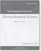 International Journal of Electrochemical Science - Volume 14